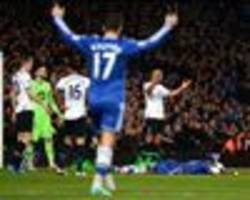 Chelsea 4-0 Tottenham: Blues cruise past Spurs as Mourinho's men go seven points clear