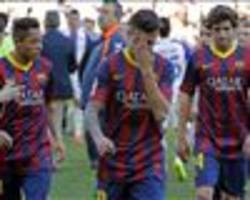 Tata's all folks: Barcelona title hopes now in terminal decline