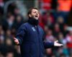 'Wake up' - Sherwood slams Tottenham's lack of character