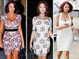 24 hours, four dresses...and endless Twitter puffs: How TOWIE's Amy cashed in on the affair with cricket star that never was