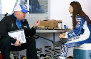 Danica Patrick fast at Las Vegas: Will this be her week?
