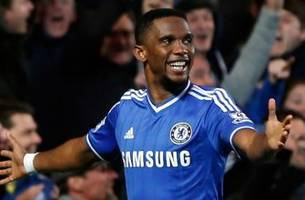 Eto'o showcases old-man strength in Chelsea win vs. Spurs