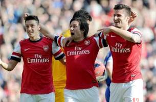 Highlights of Arsenal's smashing FA Cup victory over Everton