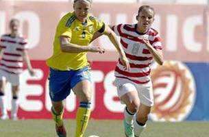Sweden defeat USA, ending the Americans 43-match unbeaten streak