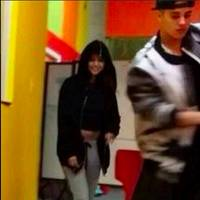 "WATCH: Justin Bieber and Selena Gomez Spotted ""Playing Around"" in a Texas Dance Studio"