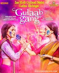 Madhuri Dixit and Juhi Chawla's Gulaab Gang suffers at the box office because of it's legal woes!