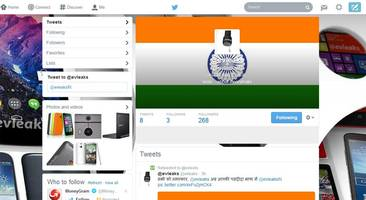 Leakster @evleaks starts Hindi Twitter account for India