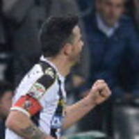 Di Natale winner puts brakes on Milan