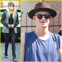 cody simpson & witney carson: thursday dance studio practice